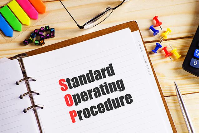 bespoke standard operating procedure