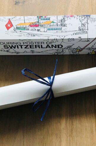 Das XL Ausmalposter der Schweiz ist eine tolle Geschenkidee und 100% Swiss made.