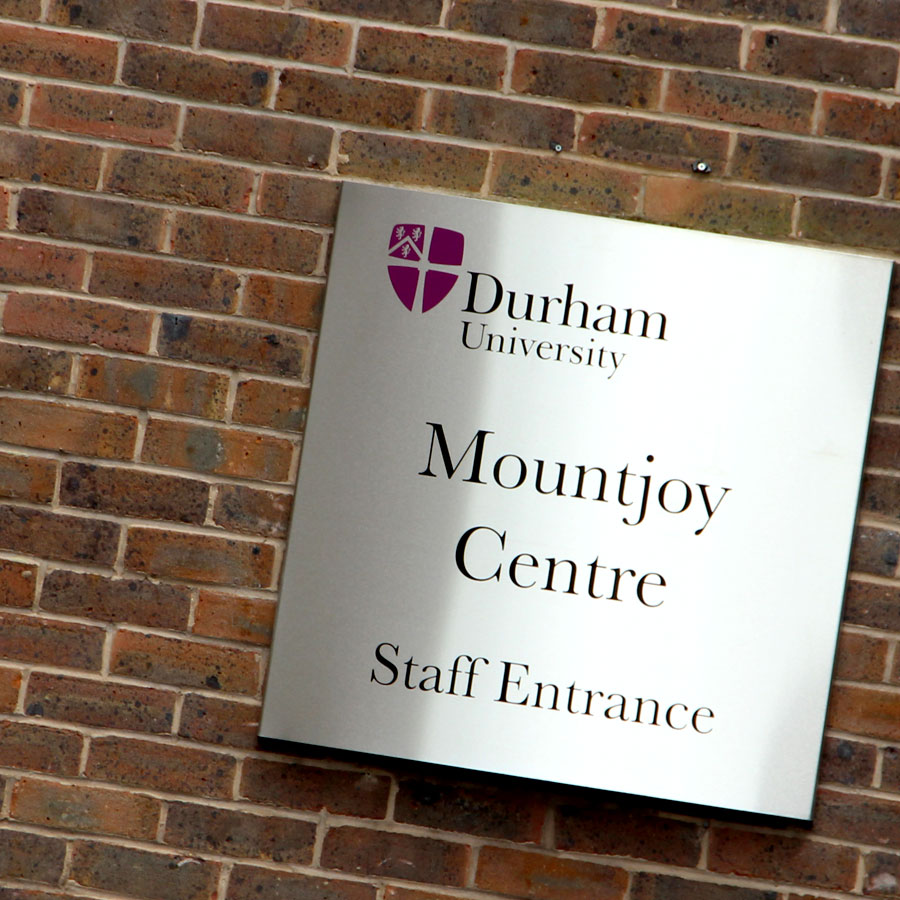 durham-uni-mountjoy-signage
