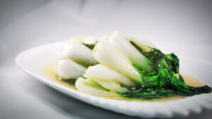 Pak Choi with Garlic from Chinese Restaurant in Gosforth NE3 Newcastle upon Tyne
