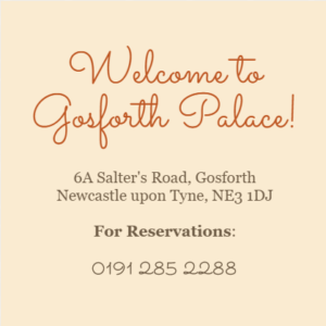 Gosforth Palace Chinese Reataurant in Gosforth Newcastle upon Tyne