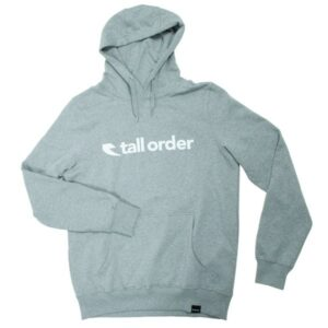 Tall Order Totem Hooded Sweatshirt – Grey