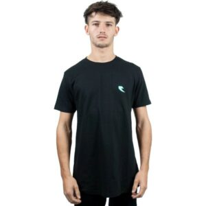 Tall Order Teal Square Logo T-Shirt – Black