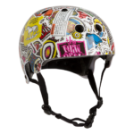 Pro-Tec Old School – New Deal Collab – Sticker bomb (Certified)