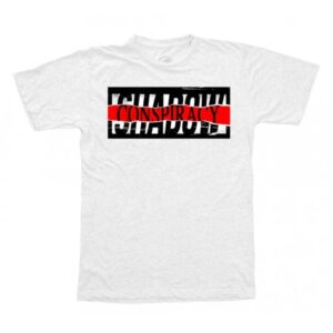 Shadow Distorted T-Shirt – White