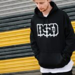 BSD OUTLINE HOODED SWEATSHIRT