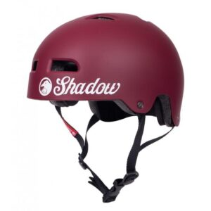 SHADOW CLASSIC HELMET – MATT BURGUNDY