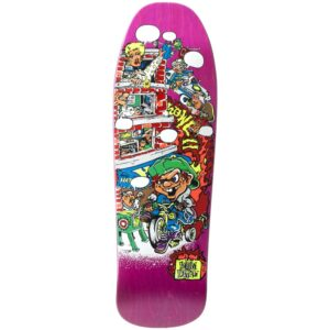 New Deal 2019 Howell Trycycle Kid SP Deck 9.625″ Pink