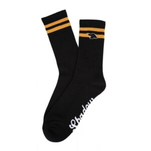 Shadow Finest Crew Socks – Black
