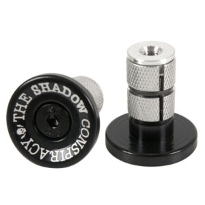 Shadow Deadbolt Bar Ends – Black