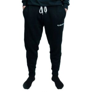 Tall Order Embroidered Logo Joggers – Black