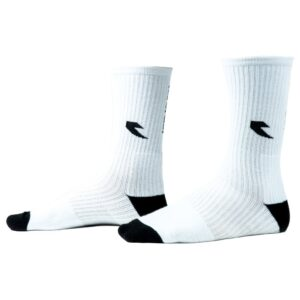 Tall Order Logo Socks – White With Black Logo