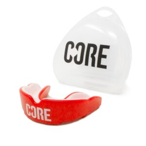 CORE Protection Mouth Guard/Gum Shield – Red