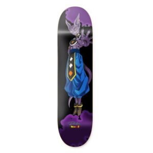 Primitive Dragon Ball Super NEAL BEERUS Deck Purple 8.125″