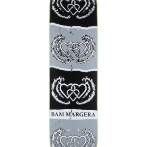 HEART SUPPLY BAM MARGERA THREE HEARTS 8″ SKATEBOARD DECK