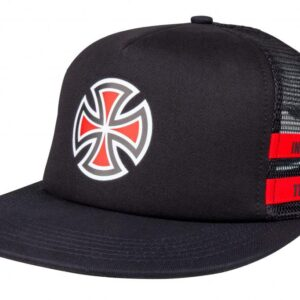 Independent Cap Shear Mesh Back – Black/Red
