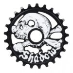 Shadow Cranium Sprocket – Black – 25 Tooth