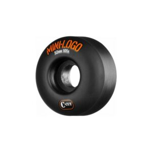 Mini Logo C-Cut 101A Wheels Black 52mm – 4pk