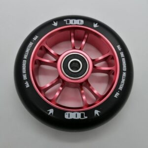 Blunt Envy Colt Wheel 100mm – Red/Black