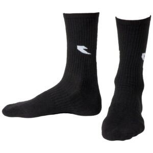 Tall Order Logo Socks – Black With White Logo