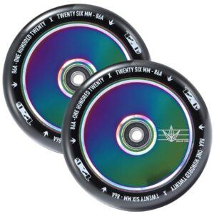 Blunt 120mm Hollowcore Wheel – Oil Slick (Pair)