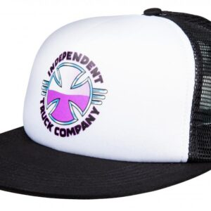 Independent Cap Purple Chrome Mesh Back