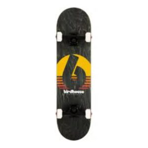 Birdhouse Stage 3 Black Sunset Complete Skateboard 8″