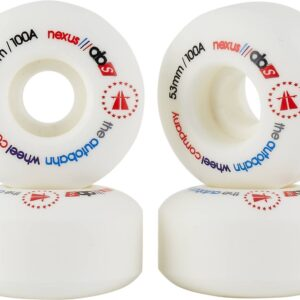 Autobahn Nexus Skateboard Wheels – 4-Pack (53mm – White)