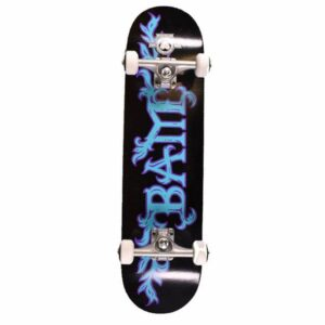 The Heart Supply Skateboards Growth Black/Blue Complete Skateboard – 7.75