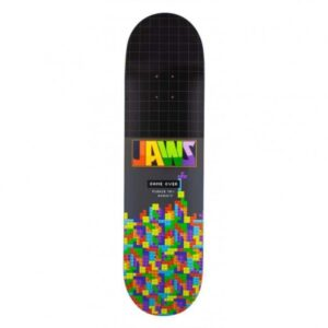 Birdhouse Pro Jaws Blocks Skateboard Deck Black 8.25″