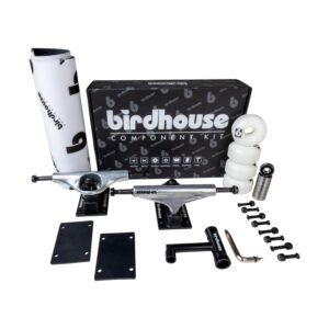 Birdhouse Component Kit – Silver/Black 5.25″