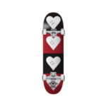 The Heart Supply HS Hol 20 CM Quad Logo Completes Black/Red 7.75″