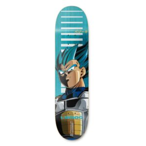 Primitive Lemos SSG Vegeta Skateboard Deck Blue – 8.25