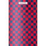 The Heart Supply – Luxury Checkers Deck – Red/Blue 8″