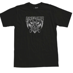 The Heart Supply – Love & Hate S/S Tee – Black (Updating)