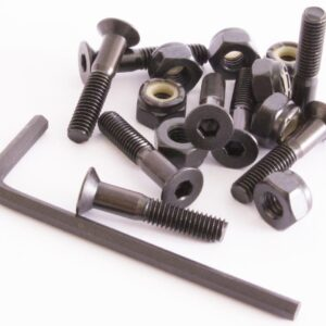 Sushi Bolts Allen Bolts (pack of 8) Black 1″