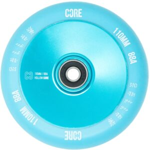 CORE Hollow V2 Scooter Wheel – 110mm – Mint Blue (set of two)