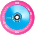 CORE Hollow V2 Scooter Wheel – 110mm – Pink/Blue (set of Two)