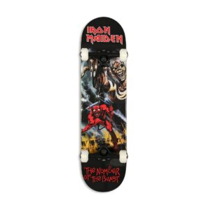 Zero x Iron Maiden Number Of The Beast 8″ Complete Skateboard