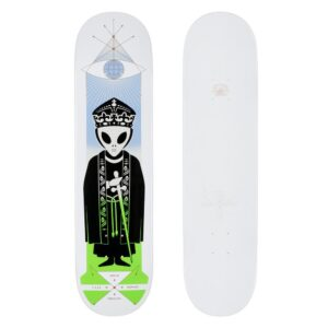 Alien Workshop AWS Holiday D20 High Priest Yaje –  Deck – White Dipped