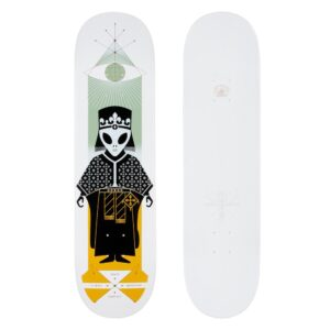 Alien Workshop AWS Holiday D20 High Priest Sammy Deck – White Dipped – 8.25″