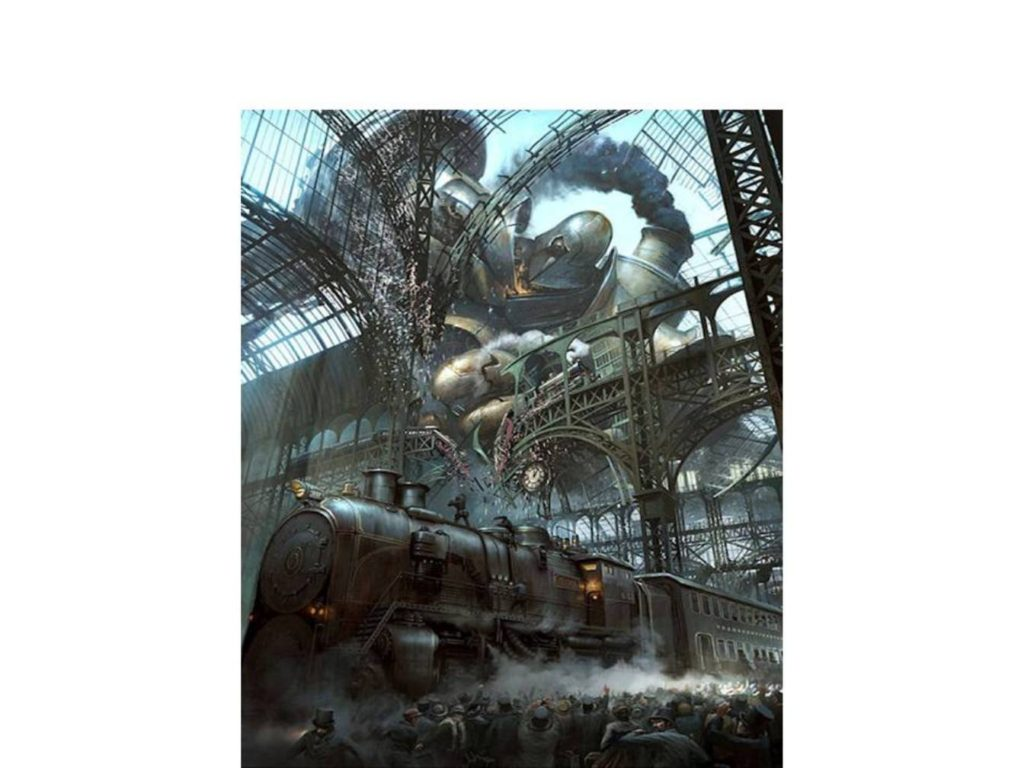 steam punk 1024x768 - Let's View the past - in contemporary time