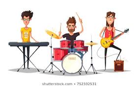 rock band - Rock on - and laugh with the Band!