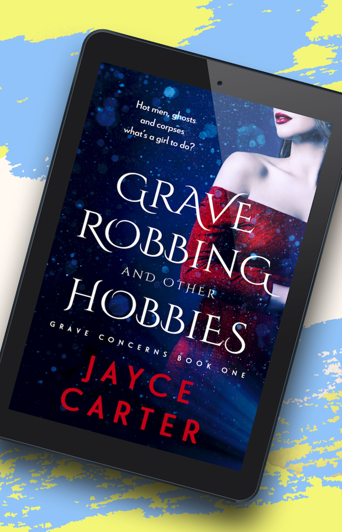 grave - What did you say your hobby was? book blitz