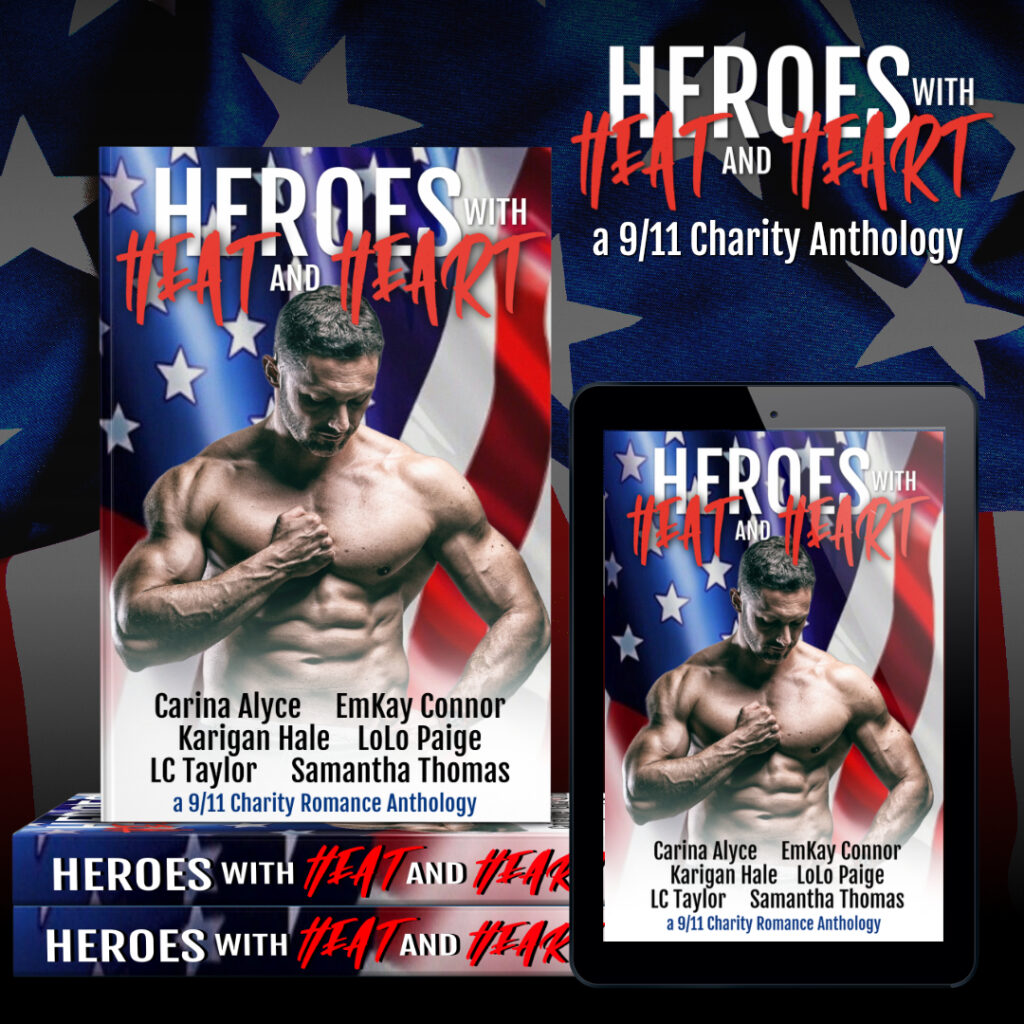 HEROES with HEAT and HEART 1 1024x1024 - Charity Heroes: Book Blitz
