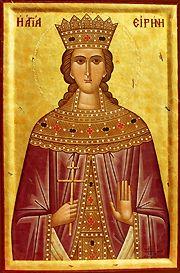 Sveta Irina – Mučena je od strane ostala četiri cara