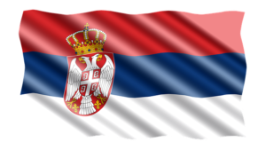 Sonja Vasić i Filip Filipović nose zastavu Srbije na otvaranju OI u Tokiju