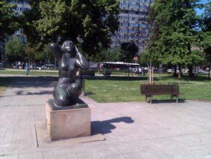 Spomenici u Parku Manjež