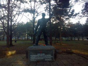 Spomenik palim borcima u narodnooslobodilačkom ratu sa Čukarice u Beogradu