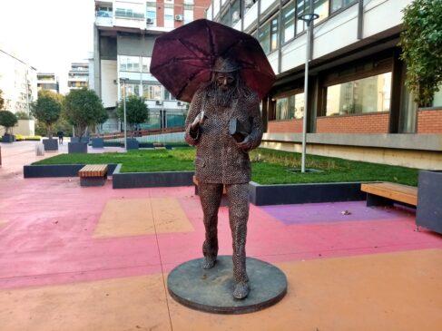 Skulptura Raše Popova u Beogradu